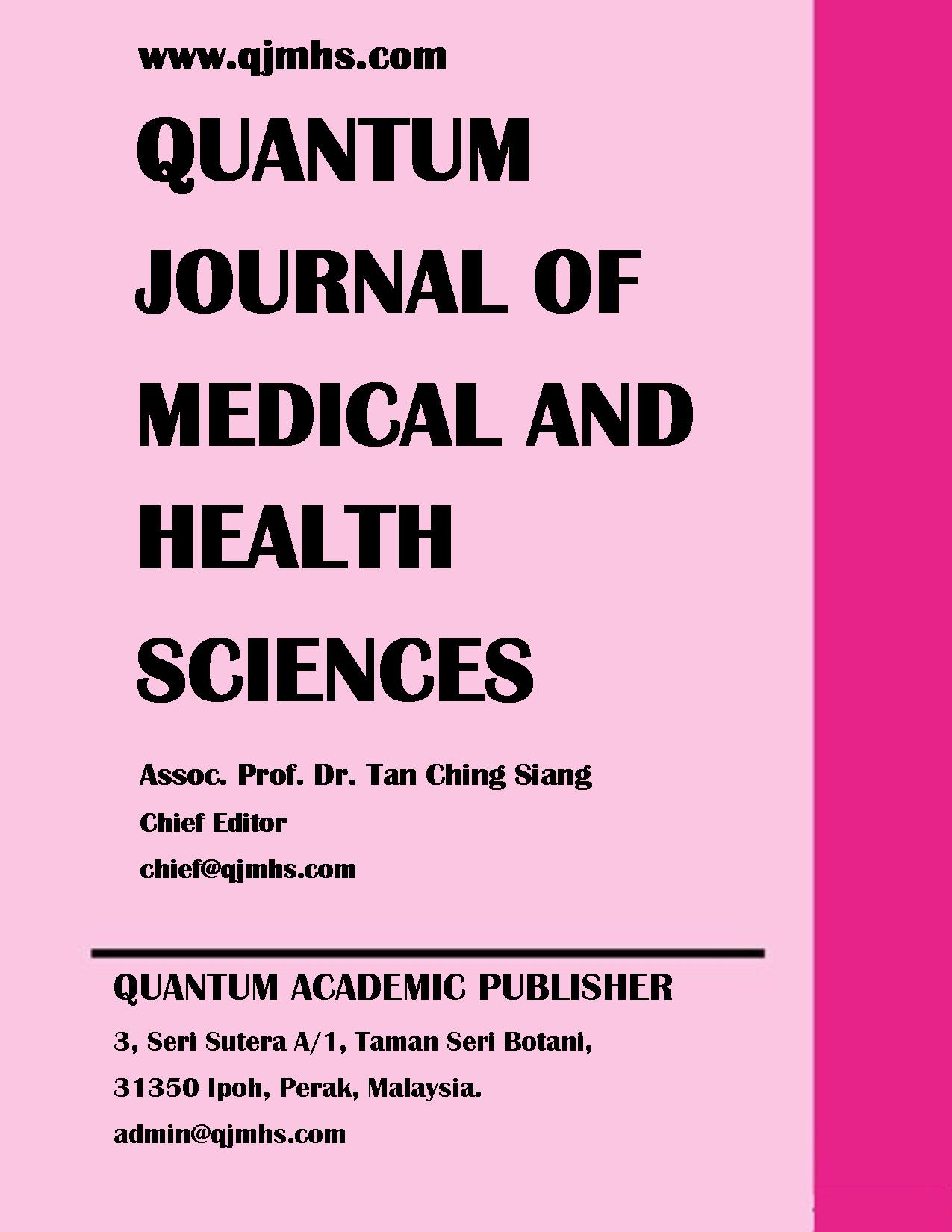 QUANTUM JOURNAL OF MEDICAL AND HEALTH SCIENCES